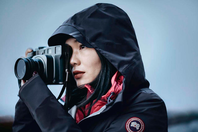 Canada Goose Spring 2019 Campaign Photographs imagery collection photographers jackets outerwear Kamil Bialous Lauren Ward Alex Kweskin Cian Oba-Smith Virginie Khateeb luo yang Vancouver, New York, London, Paris Beijing