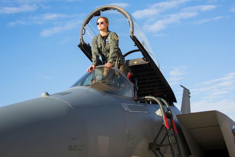 Marvel Studios Captain Marvel Videos Brie Larson Samuel L. Jackson F-16