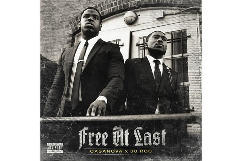 "Casanova 30 Roc Roc Nation EP ""Free At Last"" Album Release Tory Lanez Davido"