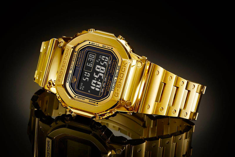 Casio G-Shock G-D5000-9JR 18k Gold Watch