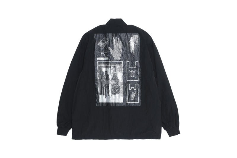 Cav Empt SS19 Collection Sixth Drop spring/summer 2019 sk8thing toby feltwell release info price CE C.E CoBrA CREW NECK GRID BLACK DENIM WIDE CHINOS GRID BLACK DENIM JACKET UNAVOIDABLE ZIP JACKET STRIPE FLANNEL BIG SHIRT WIDE RIB HEAVY CREW NECK