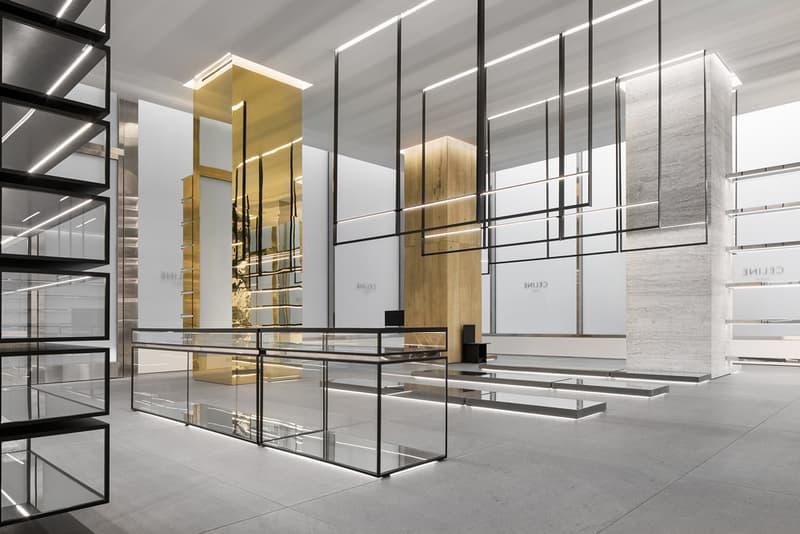 A Look Inside Celine's Newly-Designed Boutique Hedi Silmane images address info