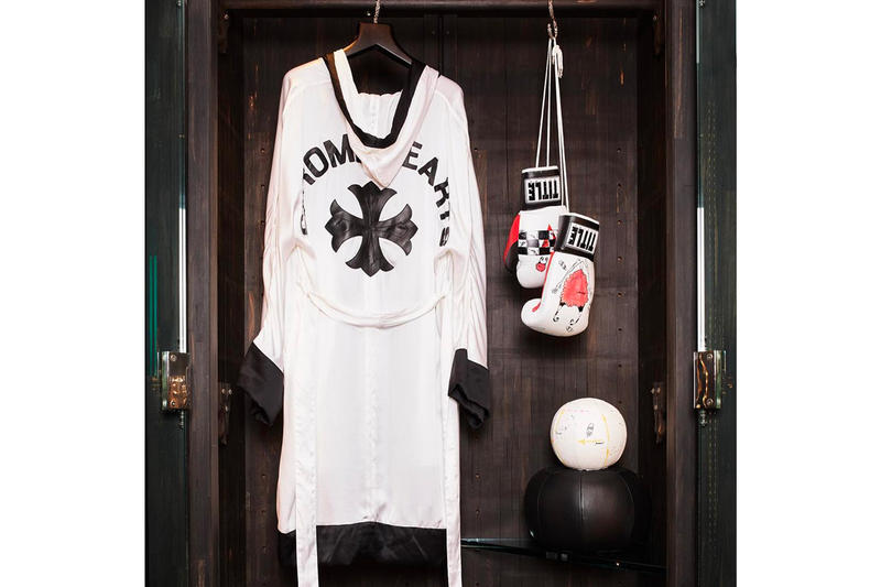 Chrome Hearts Gym Equipment Peloton gym sports boxing weightlifting athletic leather silver