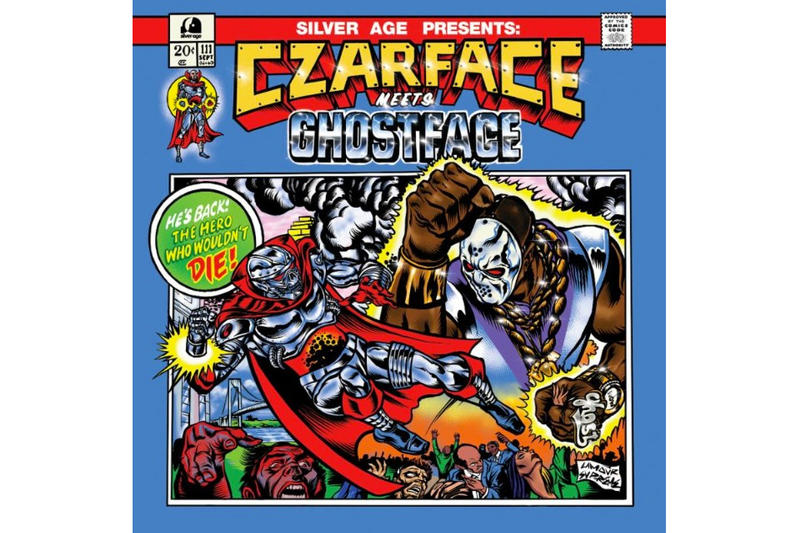 "CZARFACE x Ghostface Killah Collaborative Album  ""Czarface Meets Ghostface"" Silver Age Records album stream spotify apple music"