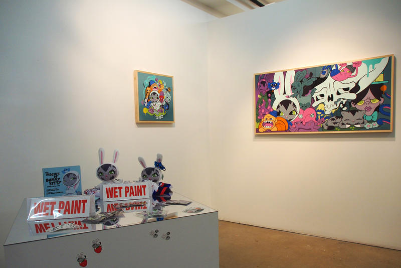dave persue liminal space gr gallery exhibition artworks painting graffiti street art