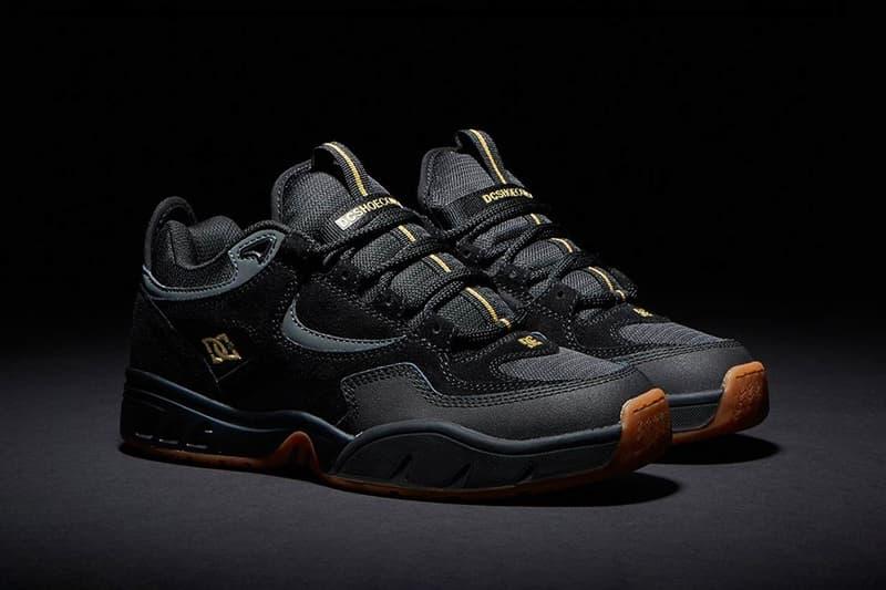 DC Shoes Kalis OG Kalis S Box Set Skateboarding Skate Sneaker Black Gum Gold Apparel Capsule Collection
