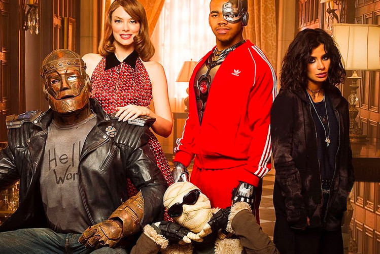 official photos da71d 4fb52 Learn More About the Misfit Heroes of  Doom Patrol  in New Extended Trailer
