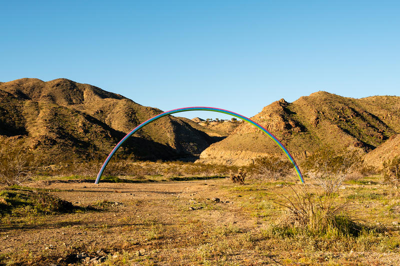 desert x installations artworks sterling ruby jenny holzer lance gerber art artworks