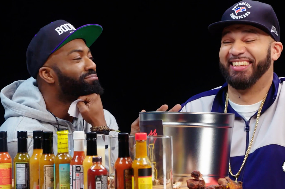 a6975c488e8 Desus and Mero Test Their Spice Tolerance on  Hot Ones