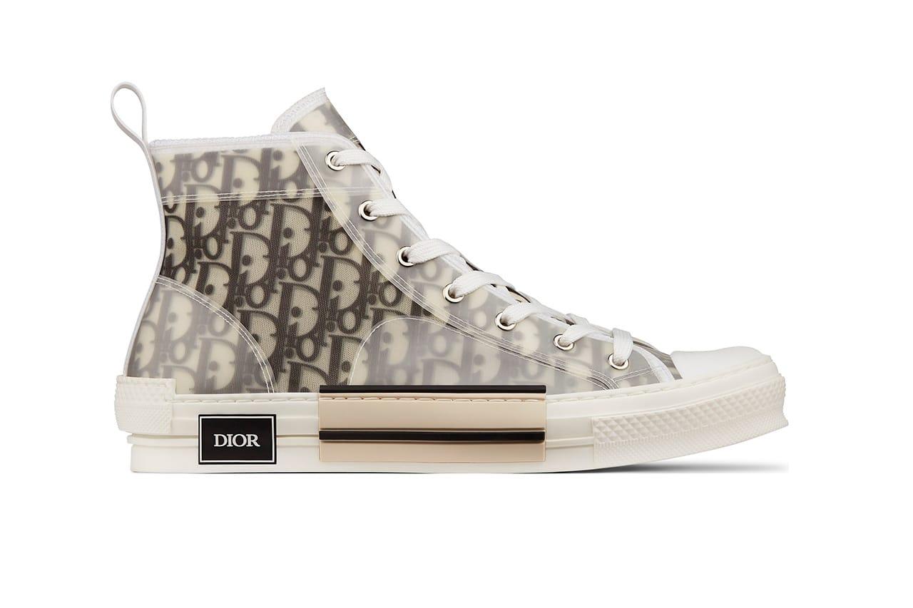 Dior Summer 2019 Oblique Print Shoes