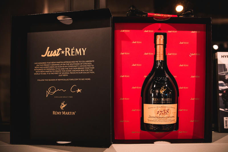 Just Don x Rémy Martin NBA All-Star Weekend Recap basketball liquor south carolina sports black leather gold red lamb victor solomon