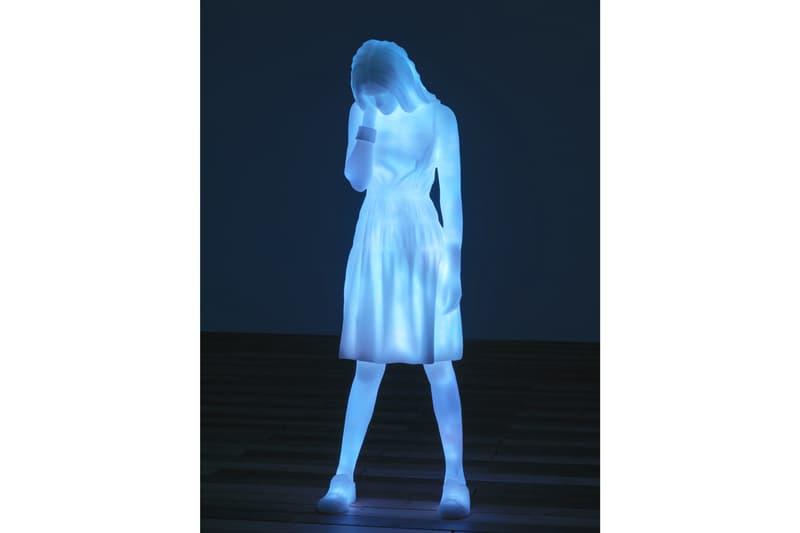 doug aitken dont forget to breathe installation ryot artworks sculptures three modern figures