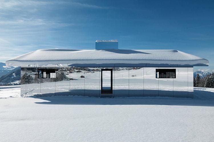 6e2de301 Doug Aitken Takes His 'Mirage' Creation to the Swiss Alps