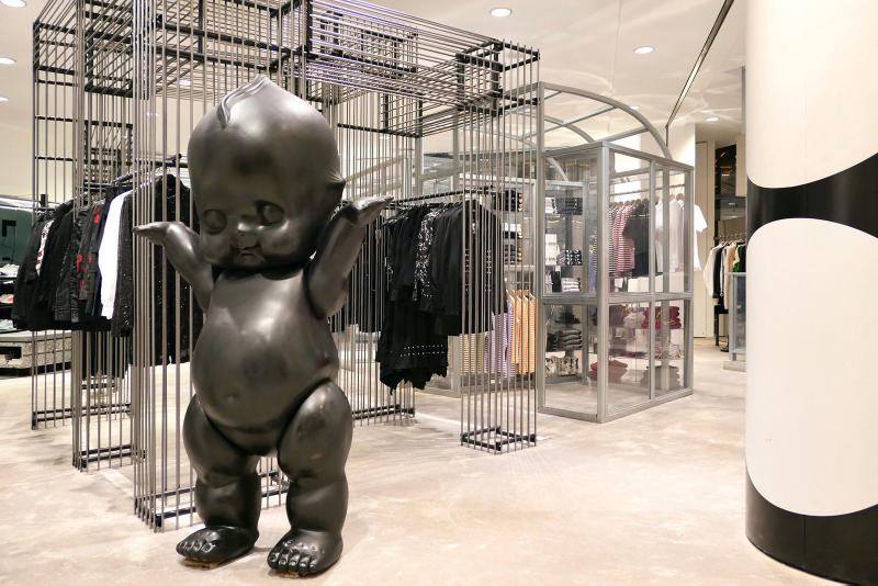Dover Street Market Paris Beauty Concept Announcement Rei Kawakubo Adrian Joffe Comme des Garçons May Opening Marais district
