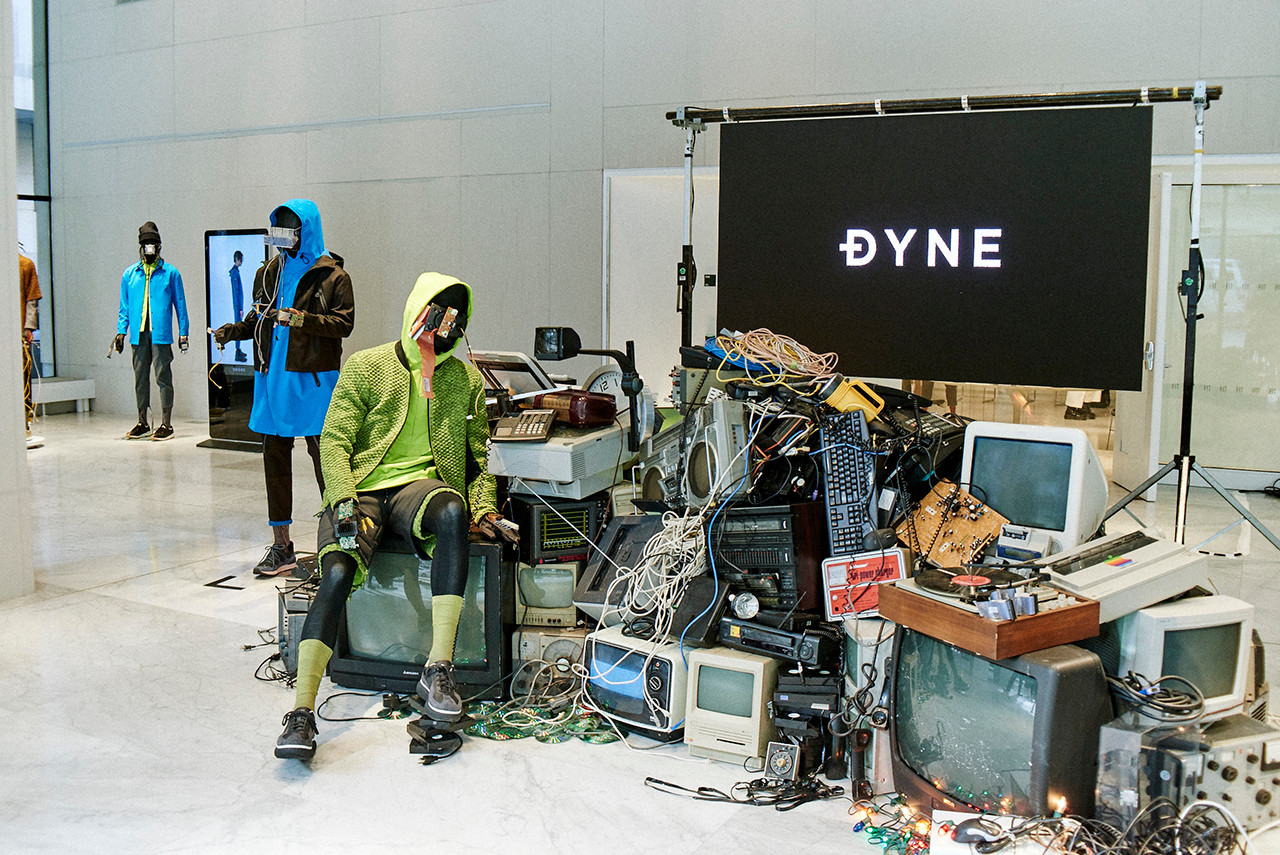 DYNE Fall Winter 2019 Collection NYFW Show presentation