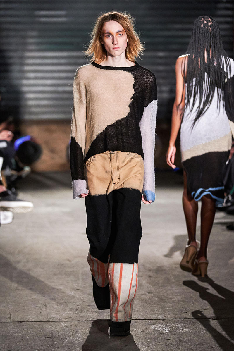 Eckhaus Latta Fall Winter 2019 Runway Show NYFW new york fashion week collection showing