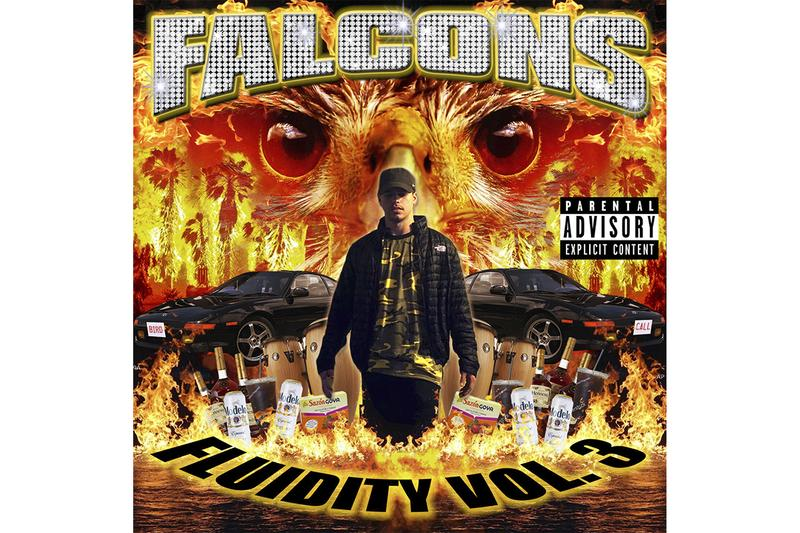 Falcons Fluidity Vol. 3 Mix Exclusive Premiere Goldlink James Blake Travis Scott Sheck Wes Amine Paul Mond A-trak Carmack SoSuperSam Jarreau Vandal GTA Snakehips