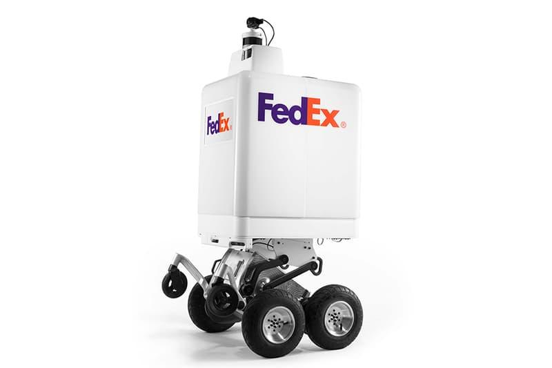 FedEx Test Autonomous Robot Deliveries This Summer SameDay Bot iBot Amazon Google