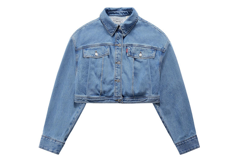 Feng Chen Wang Levi's Collaboration Spring/Summer 2019 Denim Jeans Jacket Cap Sweatshirt Accessories Collection Release Date