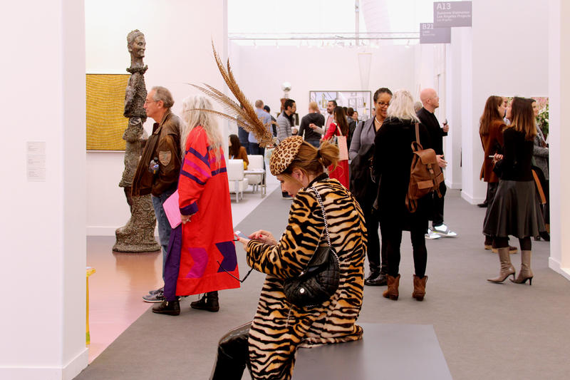 frieze los angeles art fair review artworks paintings panel discussions