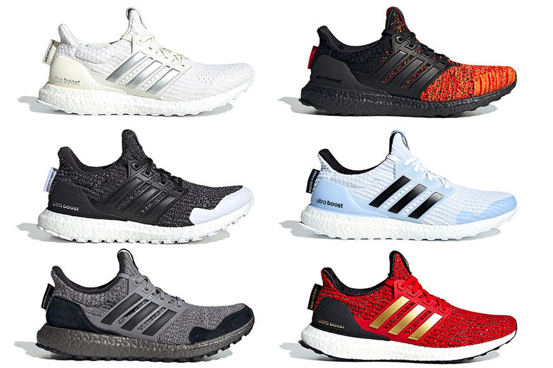 8a7cacc052d Game of Thrones adidas UltraBOOST Full Look White Walker House Stark House  Lannister Targaryen Dragons House