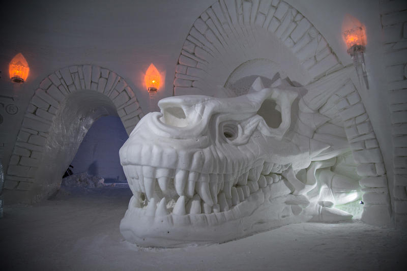 game of thrones lapland hotels snowvillage ice hotel finland