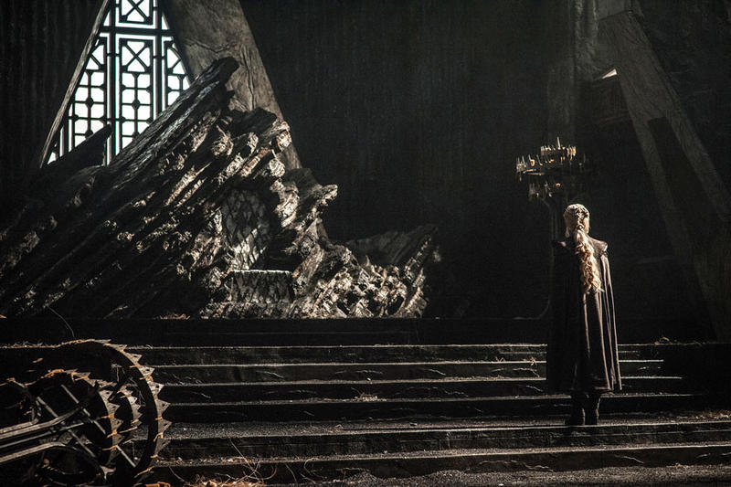 Game of Thrones Twitter Poster Emoji Iron Throne Poster Reveal