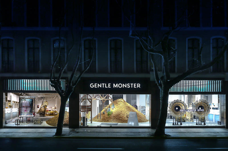 Gentle Monster Shanghai Flagship Art Exhibit