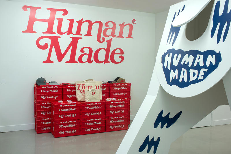 Girls Don't Cry x Human Made at Oallery Recap