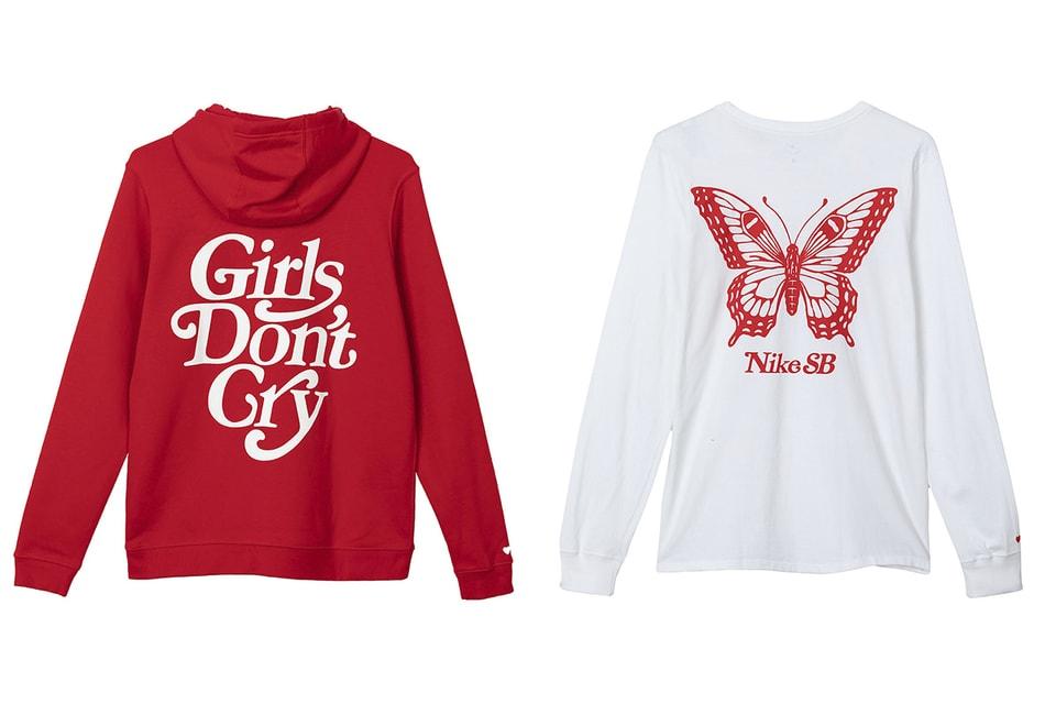 ebaf18d1b Girls Don't Cry x Nike SB Collection Full Look | HYPEBEAST