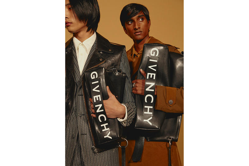 """Givenchy Launches Versatile """"Tag"""" Bag Collection bum duffle messanger white black navy release drop date price images accessories"""