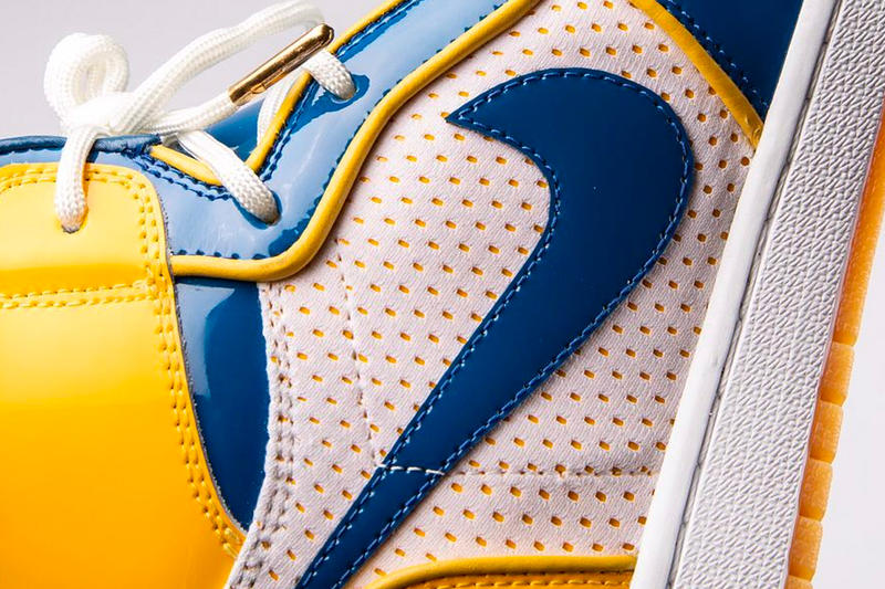Golden State Warriors Nike Collaboration Teaser Air Jordan 1 Force Dunk Blue Gold Stephen Curry