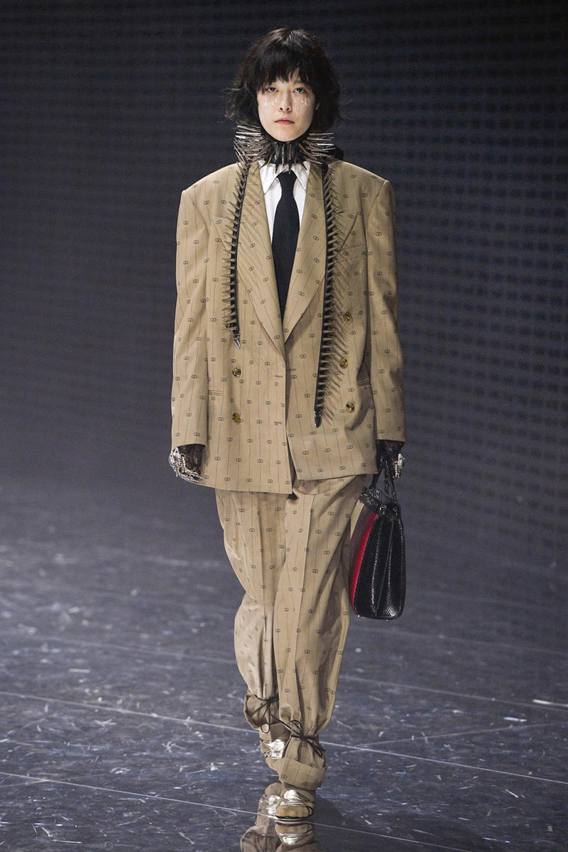 b42e794ab76 gucci fall winter 2019 collection milan fashion week mens womens wear  clothing mfw fw19 presentation alessandro