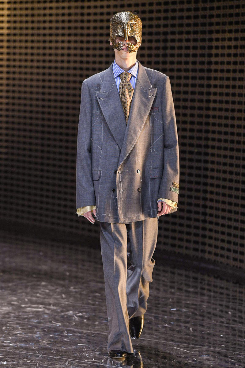 67b21e10ddd gucci fall winter 2019 collection milan fashion week mens womens wear  clothing mfw fw19 presentation alessandro