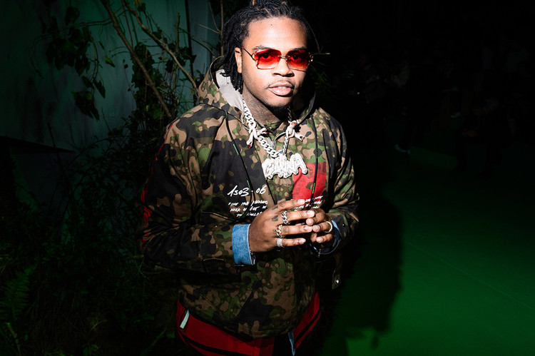 Gunna Hits the Studio in Style for