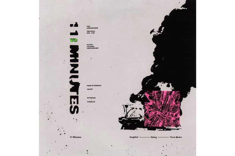 "Halsey ""11 Minutes"" Feat. Yungblud & Travis Barker Stream singles blink 182"