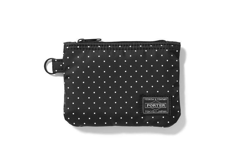 HEAD PORTER DOT Capsule Collection Release BLACK BEAUTY Wallet Card Case Tote Bag Shoulder Bag