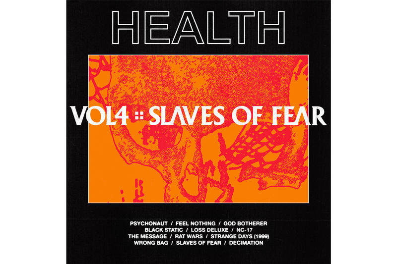 HEALTH 'VOL. 4 :: SLAVES OF FEAR' Album Stream loma vista recordings spotify apple music metal nu-metal electronic concord music group industrial techno