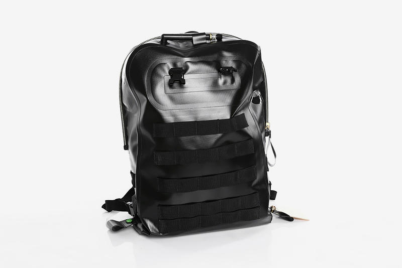 A Closer Look at Sankuanz x Herschel Supply Co. Fall Winter 2019 Bag Collection backpack black release drop info price images accessories fall winter 2019