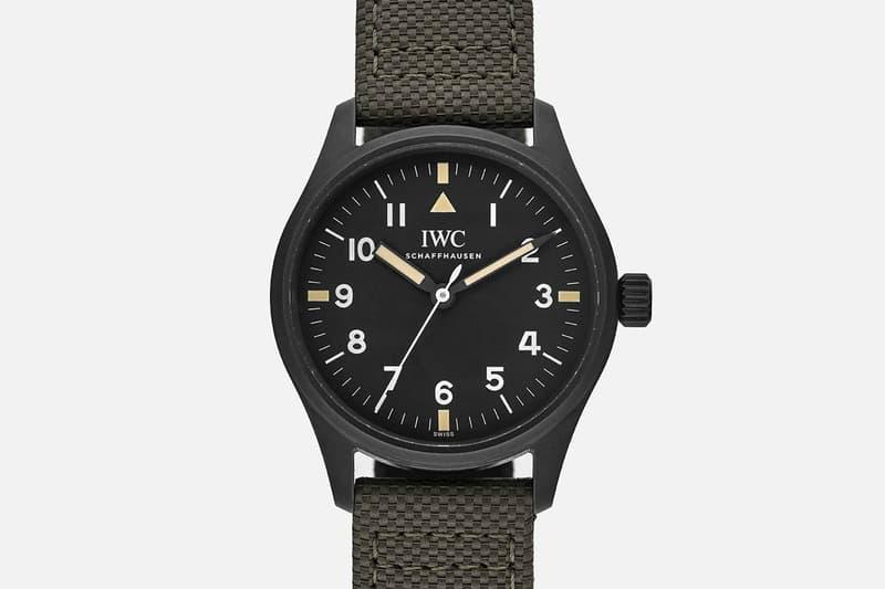 HODINKEE x IWC Pilot's Watch Mark XVIII swiss made watches timepiece wrist watch