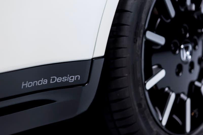Honda E Prototype First Look White Full electric vehicle Geneva Motor Show Urban EV Black electric vehicle Japan JDM Concept