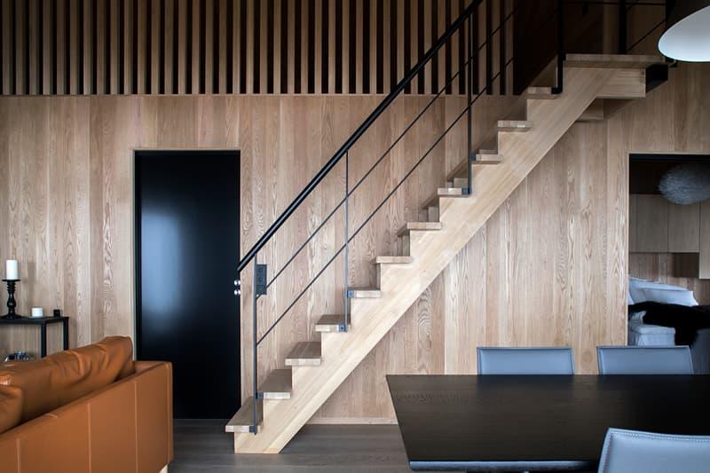 hooded cabin Arkitektærelset norway wooden Imingfjell