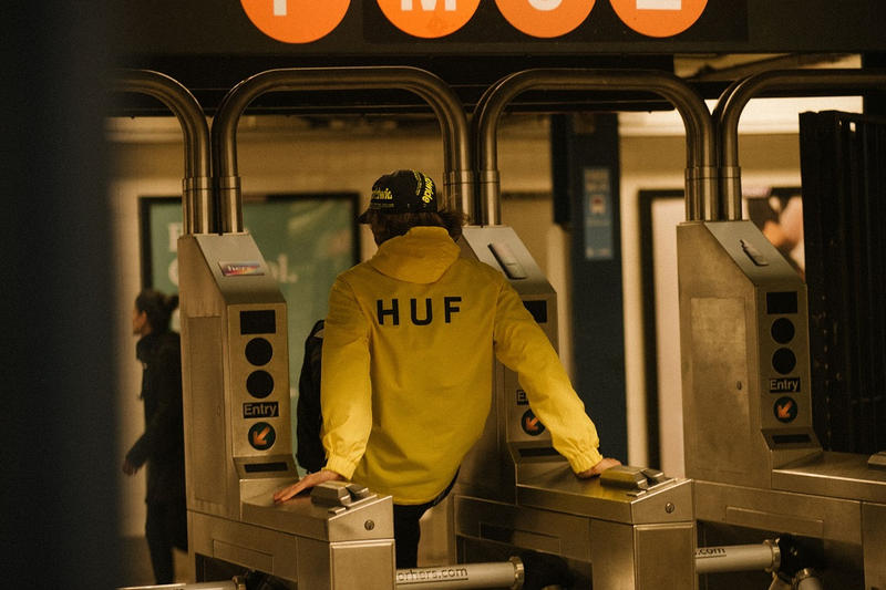 huf spring 2019 summer lookbook editorial clothes anorak jacket hoodie tee t shirt outerwear buy cost price pricing clothing streetwear california skating skate collection line info details hats shoes sneakers accessories apparel