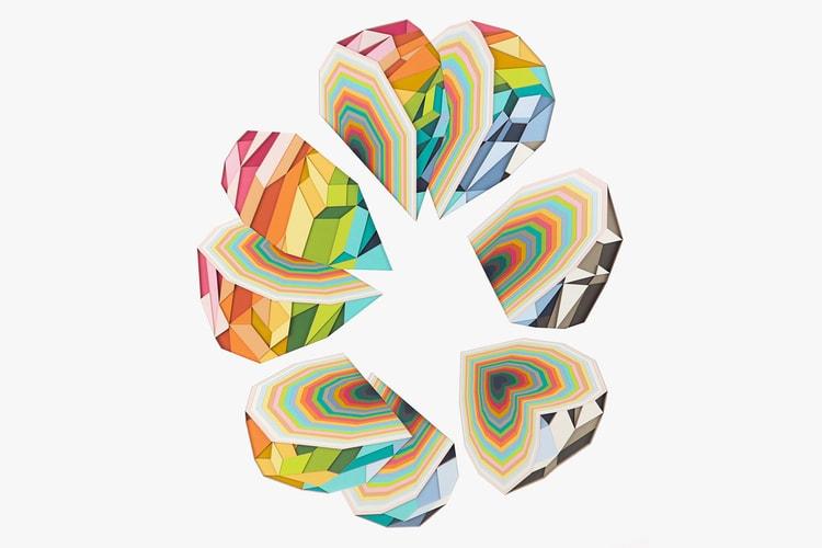 86b0c1c2aa Artist Huntz Liu Layers & Slices Paper to Create Vivid Creations