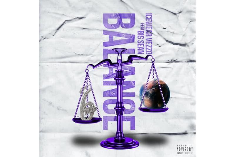 "Icewear Vezzo ""Balance"" Feat. Big Sean metro boomin 808 big sean Universal music group motown records single detroit motor city rap hip-hop"