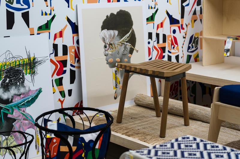 IKEA OVERALLT furniture Collection african designers  Design Indaba conference Cape Town south Africa
