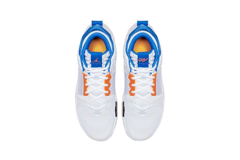 jordan why not zer0 2 okc home 2019 march footwear jordan brand russell westbrook
