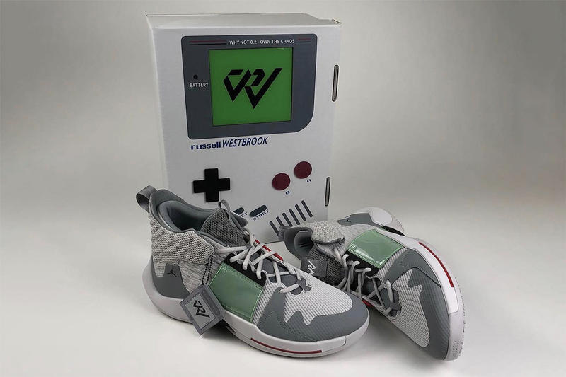 97a1bf0aedb7cc Jordan Why Not Zer0.2 Gameboy Nintendo Player Exclusive PE Russell Westbrook  Players Exclusive Custom