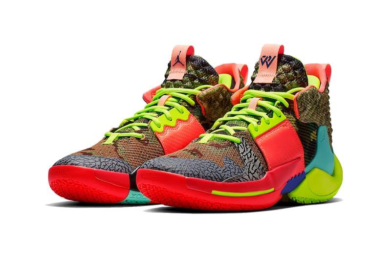 jordan why not zer0.2 all star 2019 february footwear jordan brand russell westbrook