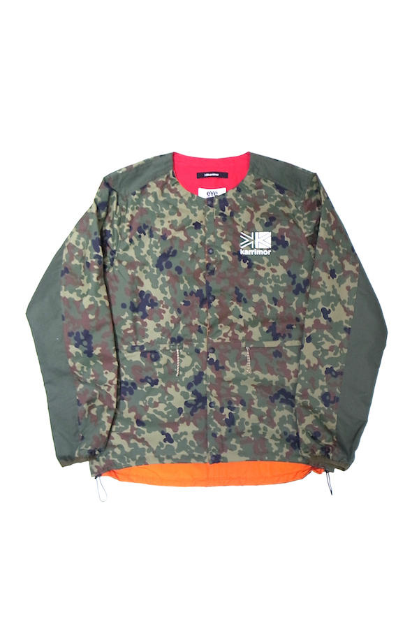 Junya Watanabe The North Face Karrimor SS19 backpack jacket reversible overshirt coaches camouflage safety orange transformable coat